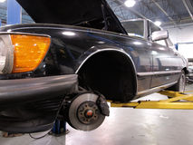 Auto Reparatie Royalty-vrije Stock Fotografie