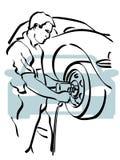 Auto reparatie Stock Afbeeldingen