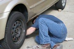 Auto Reparatie royalty-vrije stock afbeelding