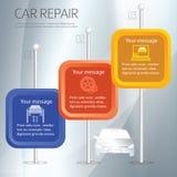 Auto-Reparatur Lizenzfreie Stockfotos