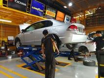 Auto-Reparatur und Wartungs-Dienstleistungen Lizenzfreies Stockfoto