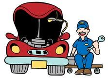 Auto reparo Imagens de Stock
