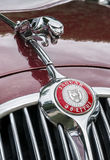 Auto Retro Herblay 2016 - Jaguar MK2 Royalty Free Stock Image