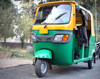 Auto rickshaw Royalty Free Stock Photos