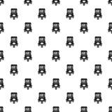 Auto rickshaw pattern seamless vector royalty free illustration