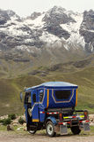 Auto rickshaw in Peru Royalty Free Stock Image