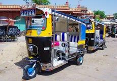 Auto rickshaw taxi in Jodhpur, India. Stock Images