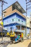 Auto rickshaw  three-weeler tuk-tuk Stock Photo
