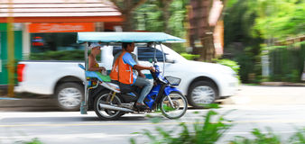 Auto rickshaw or tricycle Royalty Free Stock Photography