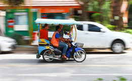 Auto rickshaw or tricycle Royalty Free Stock Image