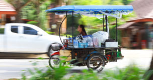 Auto rickshaw or tricycle Royalty Free Stock Images