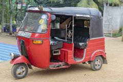 Auto rickshaw Royalty Free Stock Photo