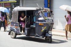 Auto rickshaw Stock Photo