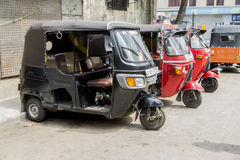 Auto rickshaws Royalty Free Stock Photography
