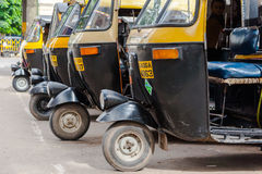 Auto Rickshaws Royalty Free Stock Image