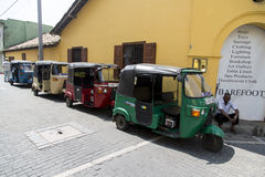 Auto rickshaws Stock Photography