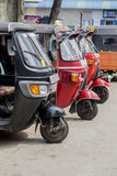 Auto rickshaws Royalty Free Stock Images