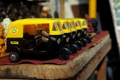 Auto Rikshaw leksak Arkivbild