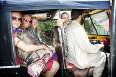 Auto rikshaw Royalty Free Stock Photography