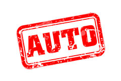 Auto rubber stamp Royalty Free Stock Image