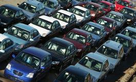Auto's Stock Afbeelding