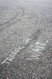 Auto's op asfalt Royalty-vrije Stock Fotografie