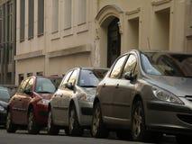 Auto's in Parijs Royalty-vrije Stock Foto