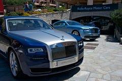 auto's van Rolls Royce Royalty-vrije Stock Foto