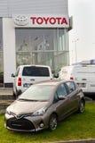 Auto's voor Toyota-de het handel drijvenbouw van het motorbedrijf Stock Afbeeldingen