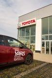 Auto's voor Toyota-de het handel drijvenbouw van het motorbedrijf Royalty-vrije Stock Foto's