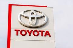 Auto's voor Toyota-de het handel drijvenbouw van het motorbedrijf Royalty-vrije Stock Foto