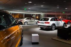 Auto's voor verkoop Royalty-vrije Stock Foto's