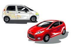 Auto's voor vrouwen Stock Afbeelding