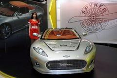 . Auto Salon. Royalty-vrije Stock Afbeelding