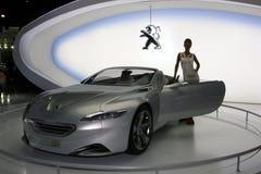Auto Salon. Royalty-vrije Stock Foto
