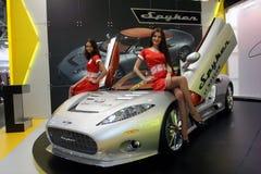 Auto Salon. Royalty-vrije Stock Afbeelding
