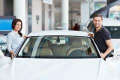 Auto Salon Royalty Free Stock Photography