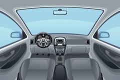 auto salong stock illustrationer