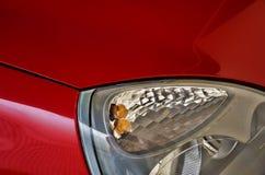 Auto-Scheinwerfer Stockbild