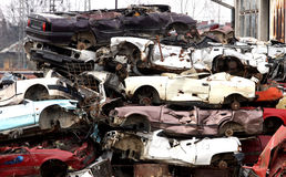 Auto Scrap Stock Images