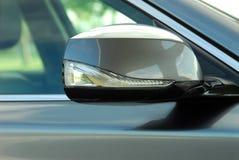 Auto Seitenspiegel und blinkler Lizenzfreies Stockbild