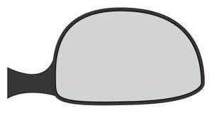 Auto-seitlicher Spiegel Stockfotografie