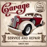 Auto serviço Imagens de Stock Royalty Free