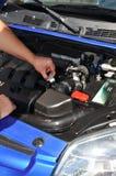 Auto service. Automobile automotive tool Royalty Free Stock Image