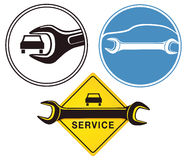 Auto service Royalty Free Stock Image