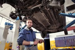 Auto service Stock Photos