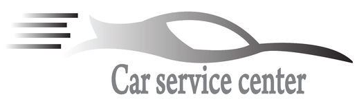 Auto-Service-Center Lizenzfreie Stockfotos