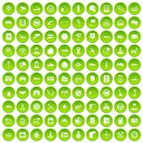 100 auto service center icons set green. 100 auto service icons set in green circle isolated on white vectr illustration stock illustration