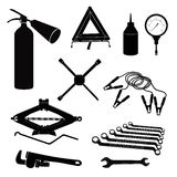 Auto service icon set Stock Images