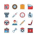 Auto Service  Icons Stock Photo
